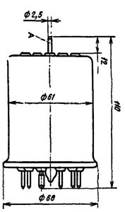 Корпус лампы ГМИ-21