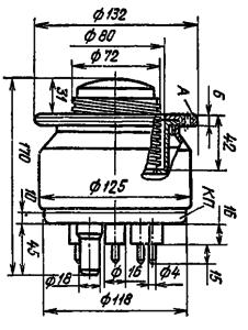 Корпус лампы ГМИ-25А
