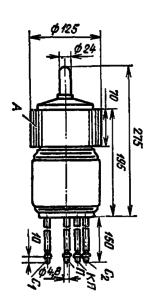 Корпус лампы ГМИ-32Б