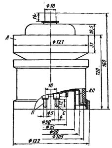 Корпус лампы ГМИ-46Б
