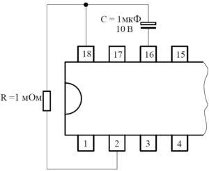 Управление задержкой (процесс, ожидание) микросхемы U211B2/B3