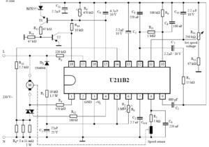 Принципиальная схема включения с возможностями управления скоростью, автоматическим повторным включением, отключением нагрузки, плавным пуском