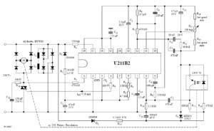 Управление скоростью с помощью светоотражающего оптопары CNY70 в качестве излучателя