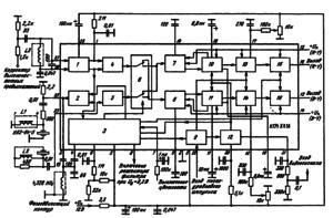 Структурная схема ИМС К174ХА16