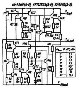 Стабилизатор напряжения кр142ен8а схема сварочный аппарат sturm форум
