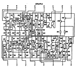 Электрическая схема включения
