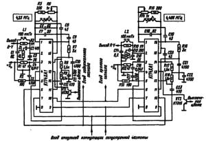Типовая схема включения микросхемы К174ХА1