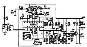Принципиальная схема приемника радиоуправления моделями (23).
