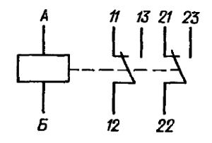 Принципиальная электрическая схема реле РЭС52