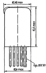 Конструктивные данные реле РЭС49