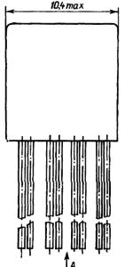 Конструктивные данные реле РЭС80