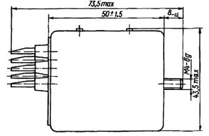 Конструктивные данные реле РЭН29, РЭН32