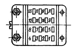 Конструктивные данные реле 64П, РПЗ, РП4. РП4М, РП5, РП7