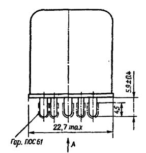 Конструктивные данные реле РПС32А