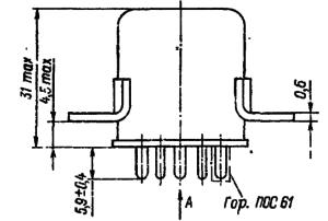 Конструктивные данные реле РПС32Б