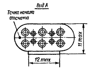 Конструктивные данные реле РПС32В