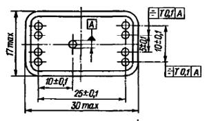 Конструктивные данные реле РЭС43