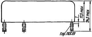 Конструктивные данные реле РЭС45