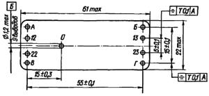 Конструктивные данные реле РЭС46