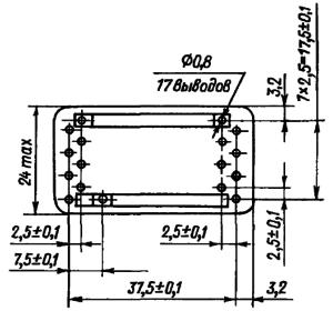 Конструктивные данные реле РЭС84