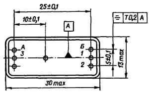 Конструктивные данные реле РГК13