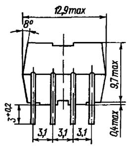 Конструктивные данные реле РГК15