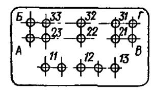Маркировка схемы РПА14.