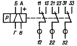 Принципиальная электрическая схема РПА14. Исполнение РФ4. 520.000-01