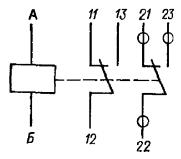 Принципиальная электрическая схема реле РЭА12. Исполнение ЯЛ4.552.001-01