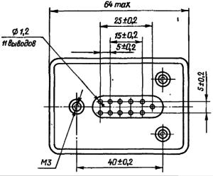 Конструктивные данные реле РВЭ2А