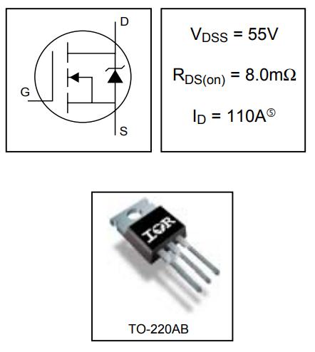 IRF3205 - силовой МОП-транзистор HEXFET®